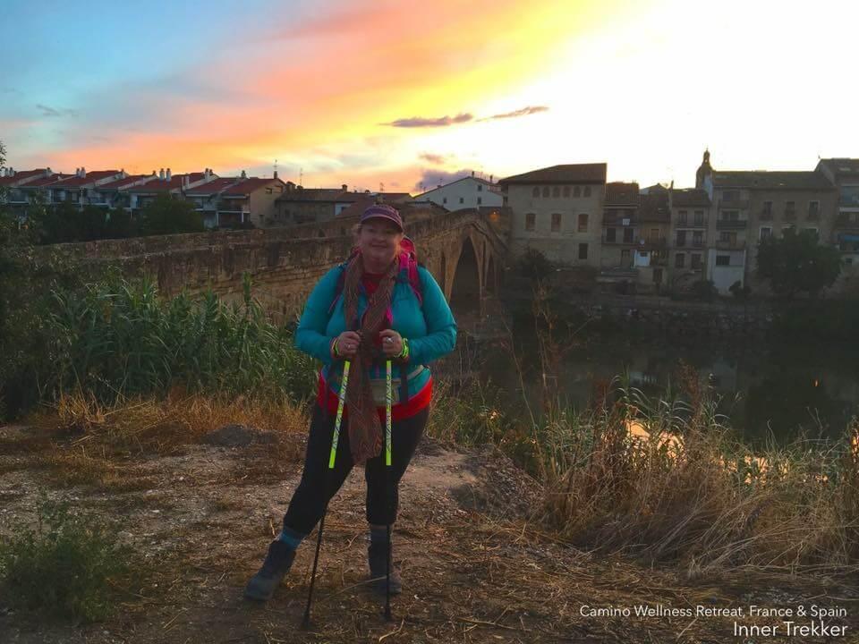 Sunrise at El Camino de Santiago