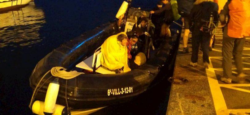 boarding the boat to padron-variante espiritual