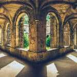 monasterio de armenteira claustro