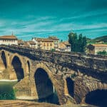 puente la reina - camino de sanaitgo