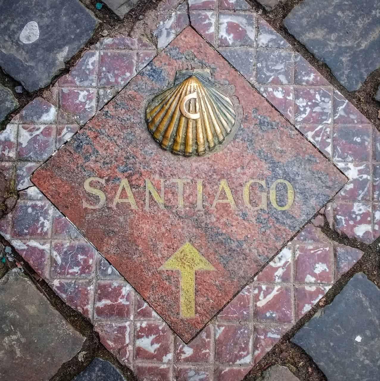 tile camino de santiago