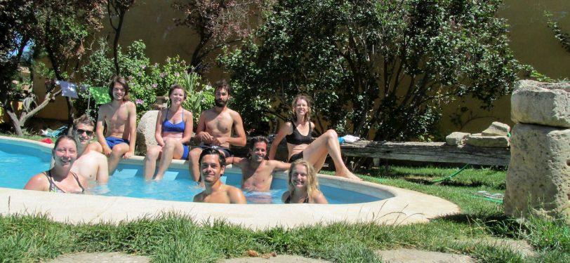 Camino Frances-Pool time